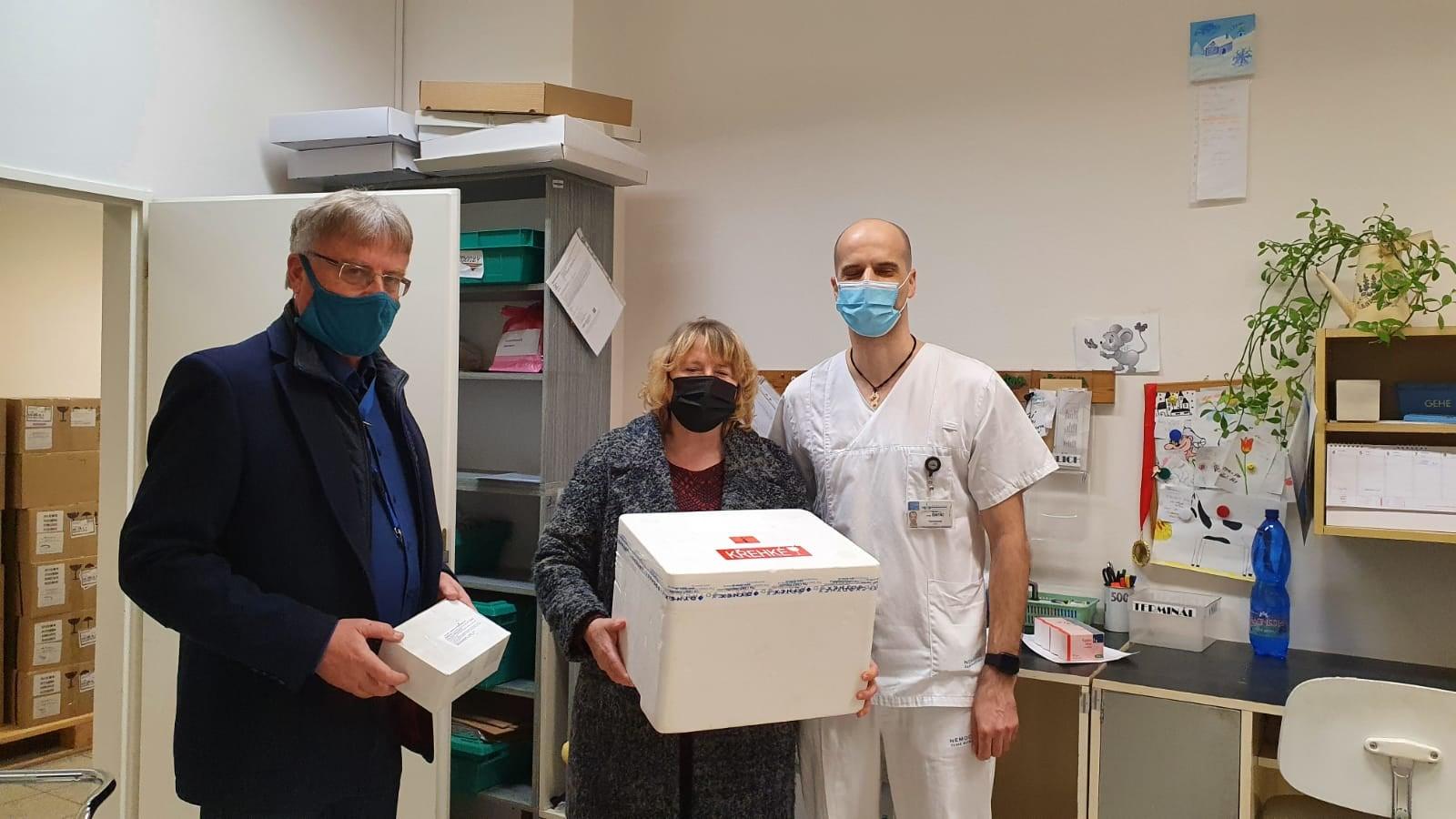 Vakcinační centrum zahájilo provoz