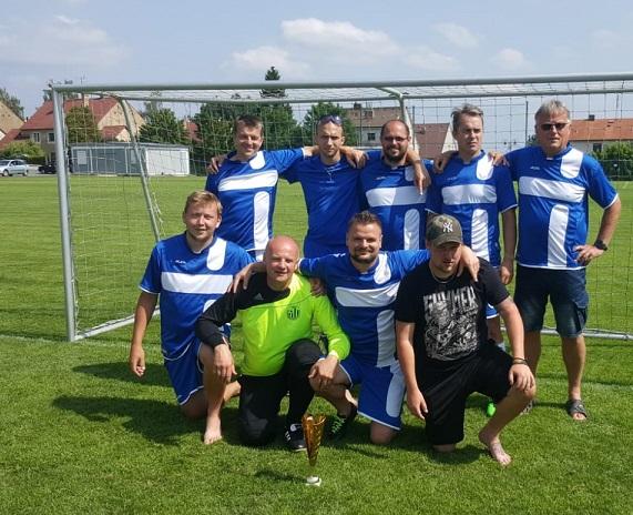 Strakonická nemocnice boduje ve fotbalovém turnaji