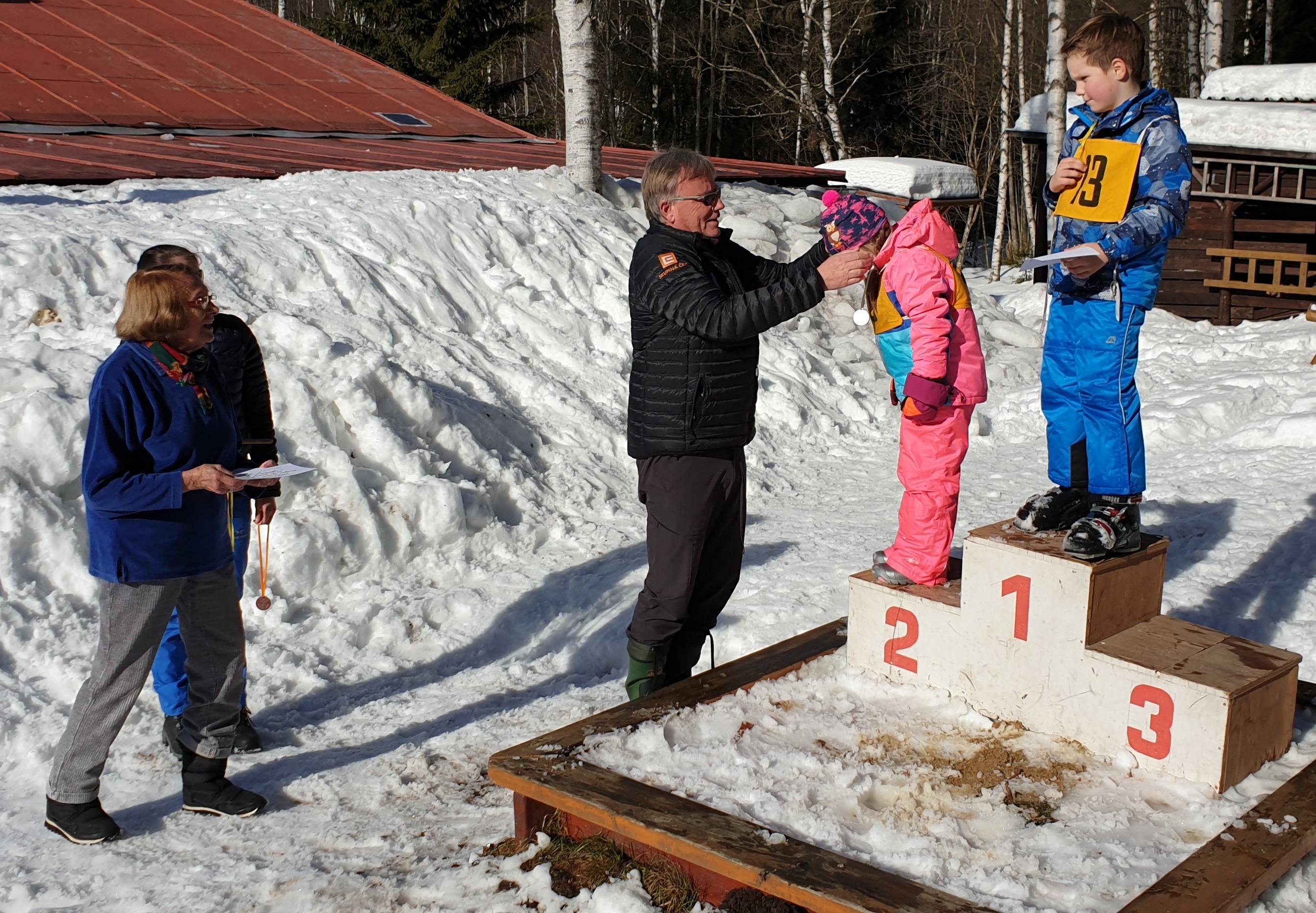 Rekreační chata strakonické nemocnice žila Dětskou zimní olympiádou