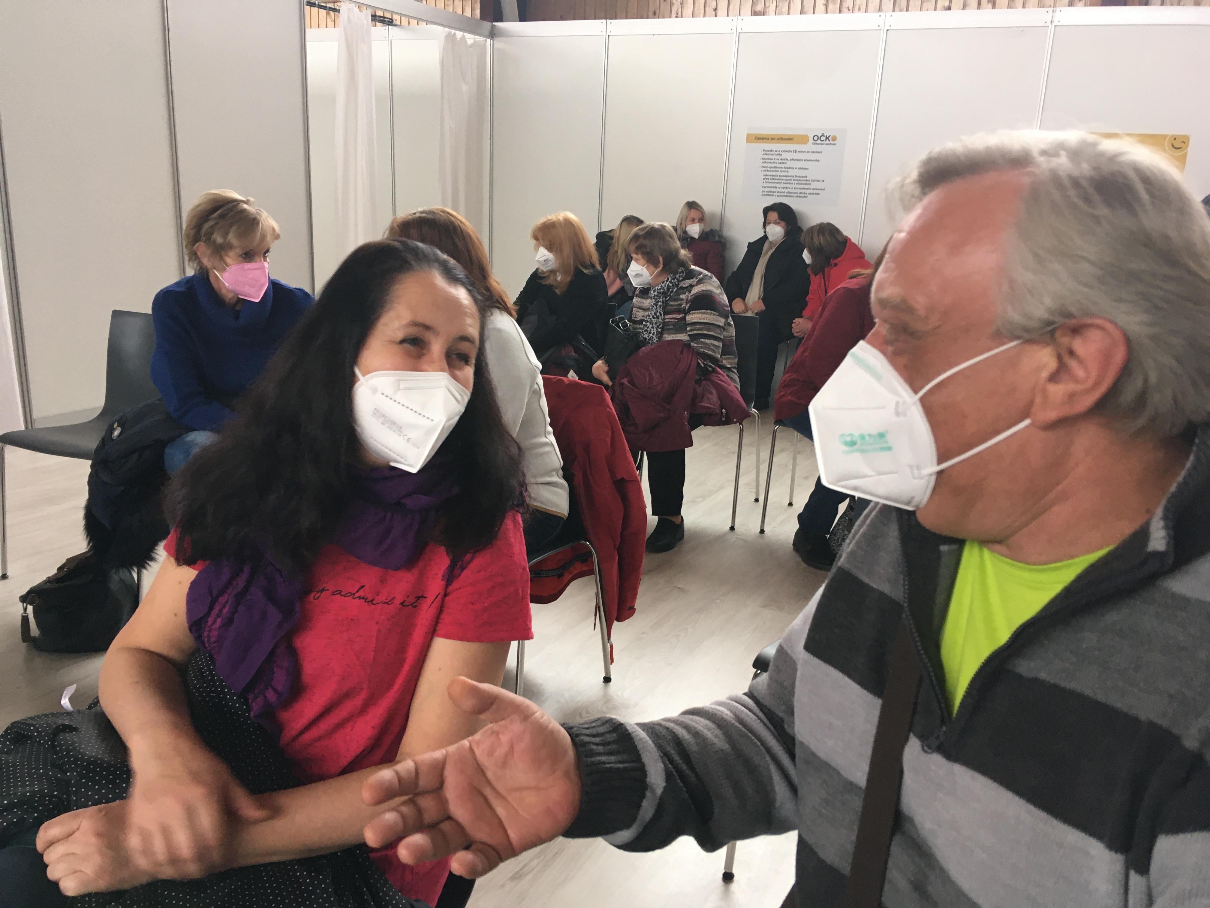 Očkovací centrum patřilo v úterý učitelům